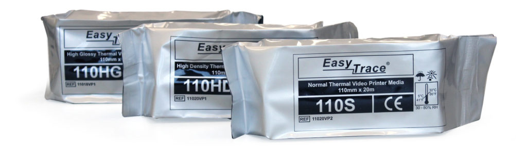 Easy Trace print media for Sony thermal printers